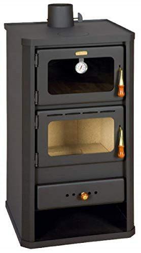 estufa de lea 12kw con horno multicombustible chimenea de lea prity fm - Estufas de Leña FM Precios, Stock e Información