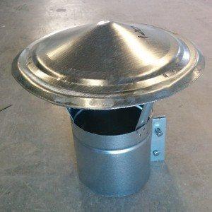 Sombrerete chino: el gorro para chimeneas más básico.
