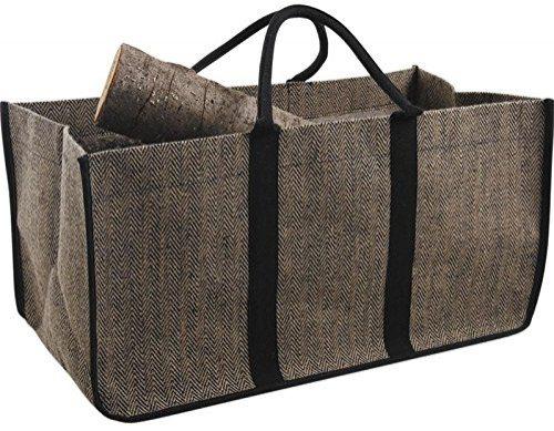 cesta de lea yute plastificado - Cesta para Leña y No Barras más el Suelo